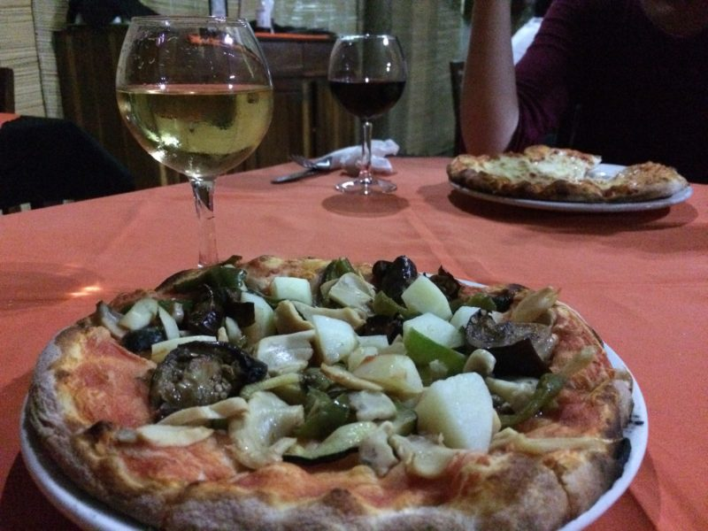 The Best Pizza In Livingstone From Olgau0027s Project With Some Good Wine And  Even Better Company